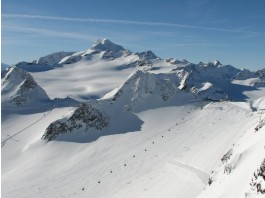 Die Alpen in Sölden