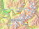 Geographic coverage of our forecast maps for Mont Blanc