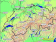 Geographic coverage of our forecast maps for Switzerland